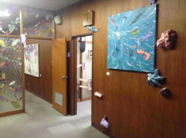 「シブヤのタマゴ~さよなら区庁舎~」展示風景